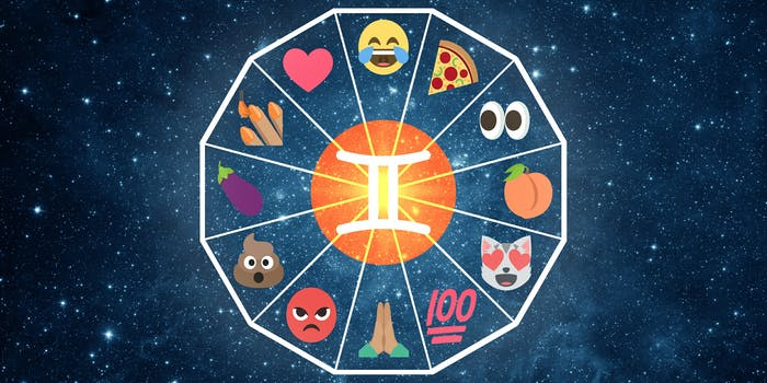 emoji horoscope gemini