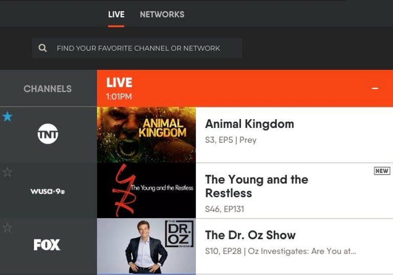 FuboTV review channel guide