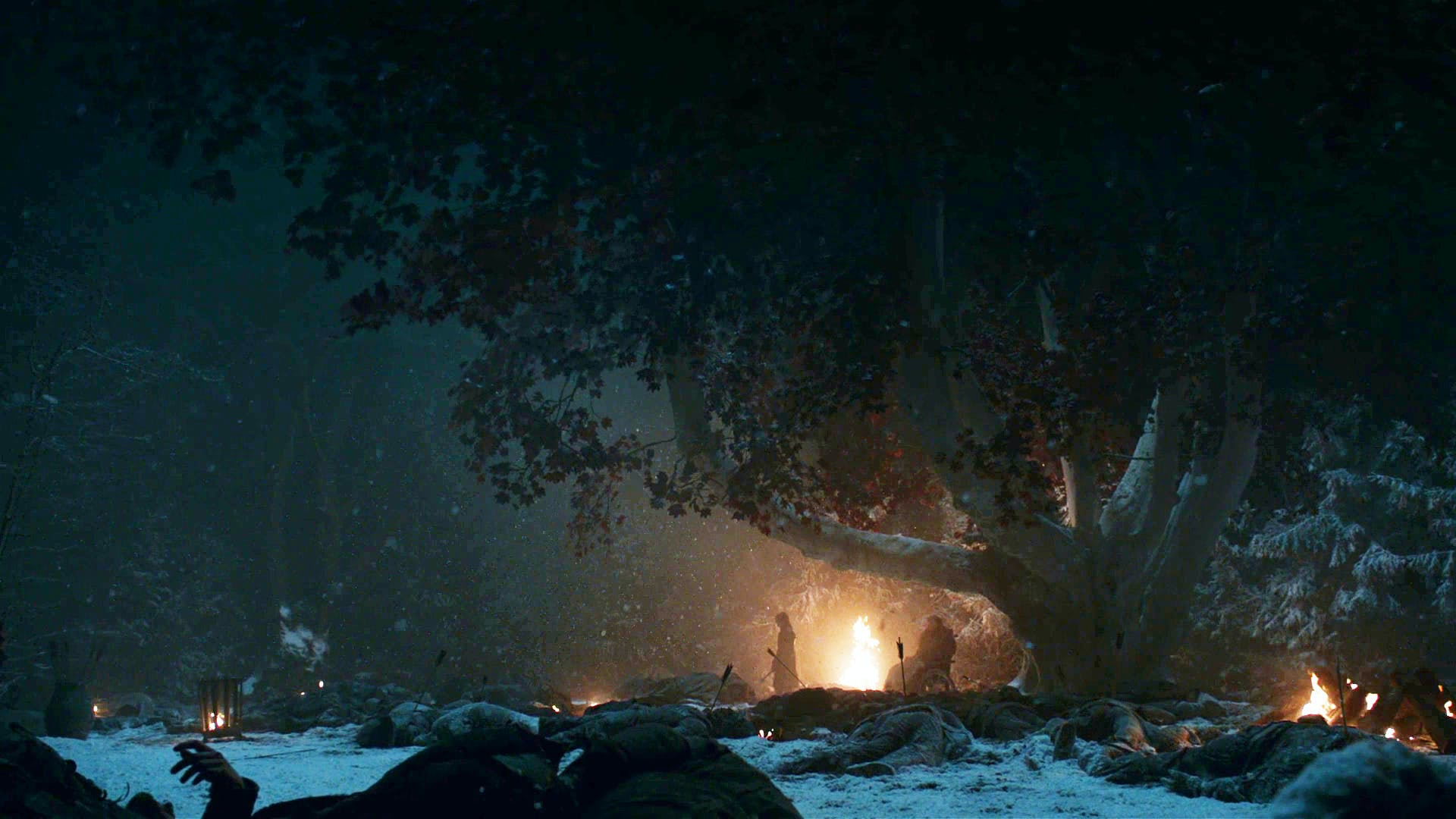 Game of Thrones Battle of Winterfell bright