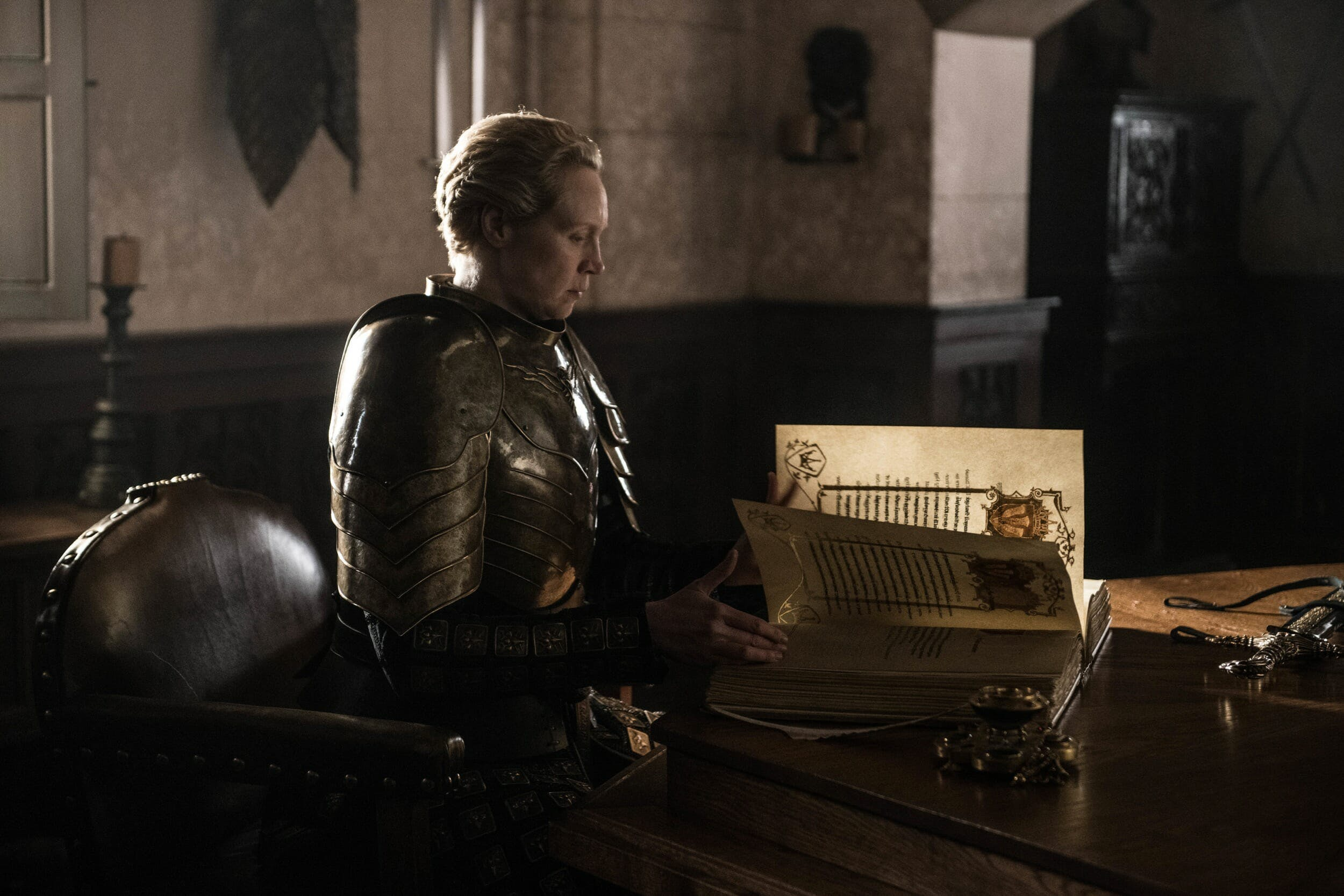 game of thrones brienne white book