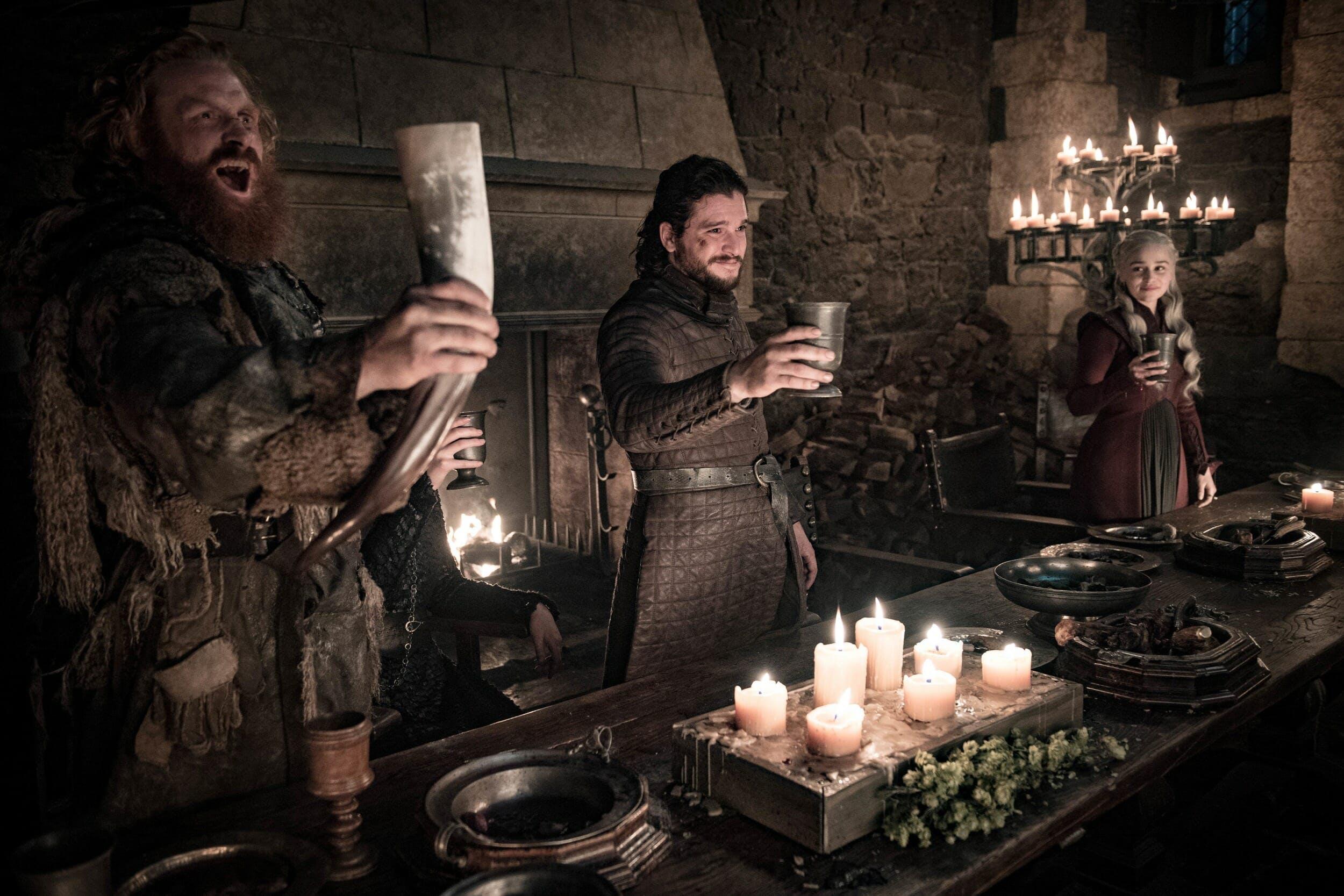 game of thrones tormund jon dany