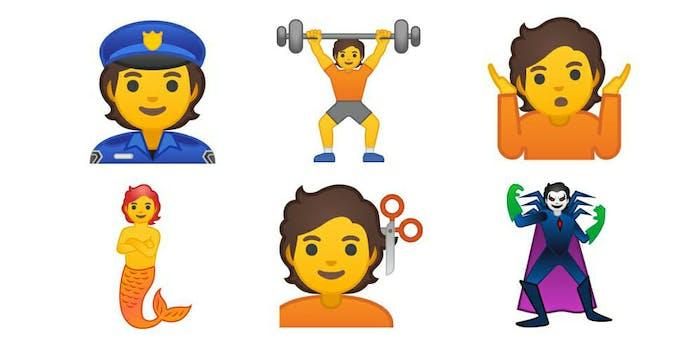 gender inclusive emoji