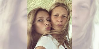 Gwyneth Paltrow got Apple's consent before sharing birthday photos.