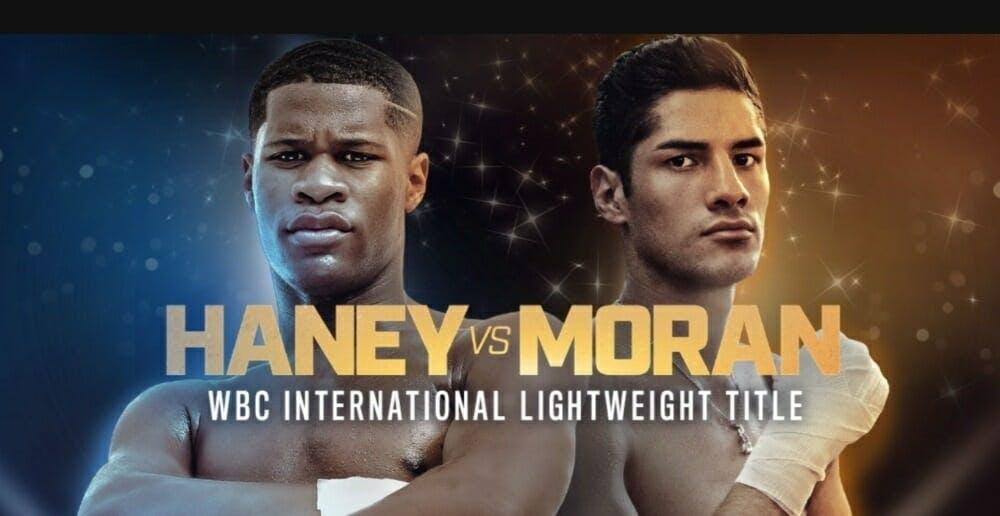 Haney vs Moran live stream DAZN