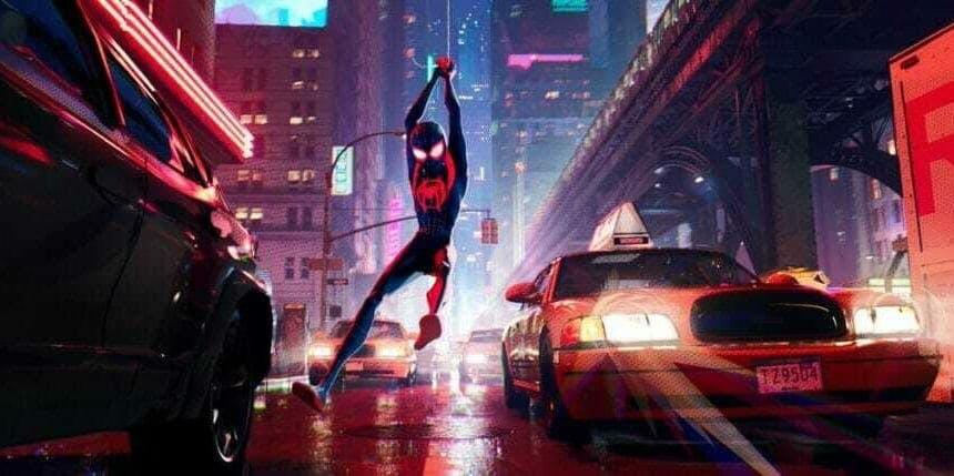 Is Spider-Man: Into the Spider-Verse on Netflix