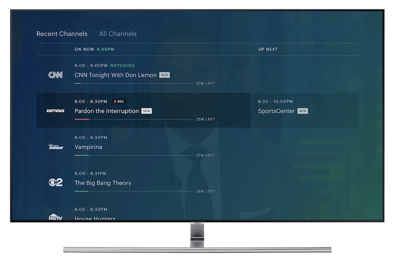 xbox one live tv apps