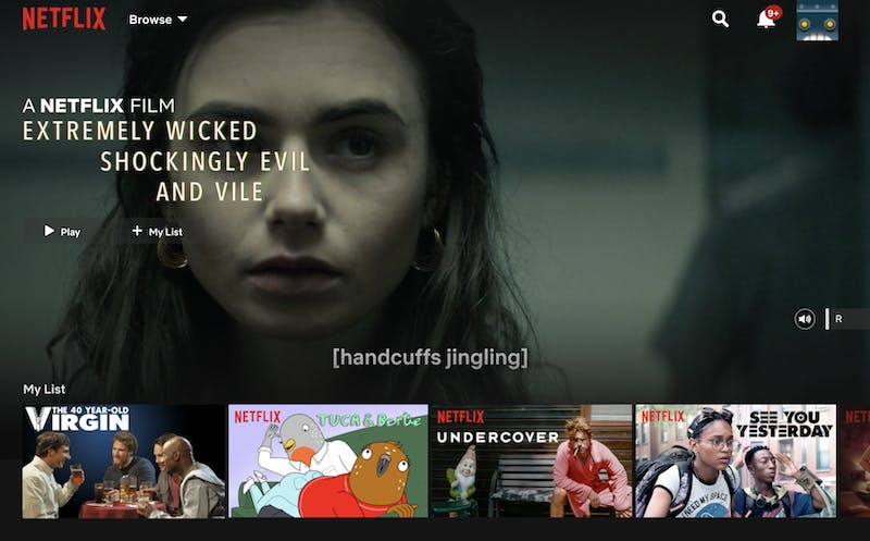 netflix on linux - homepage