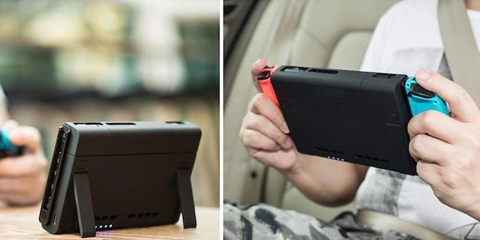 nintendo Switch charging case