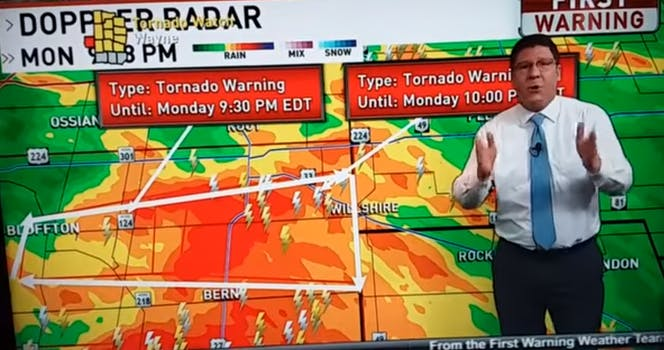 ohio meteorologist rants the bachelorette