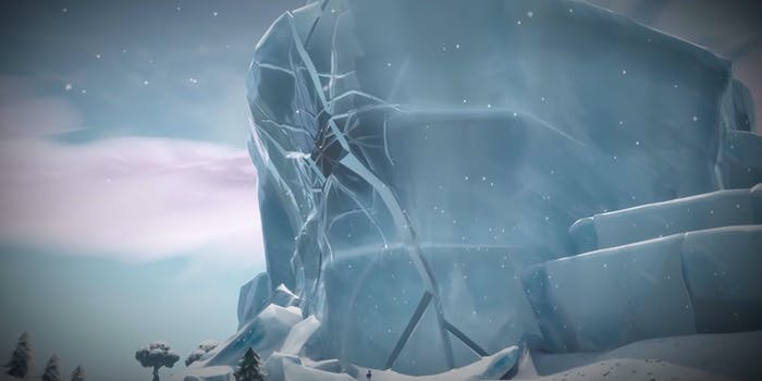 polar peak dragon crack fortnite