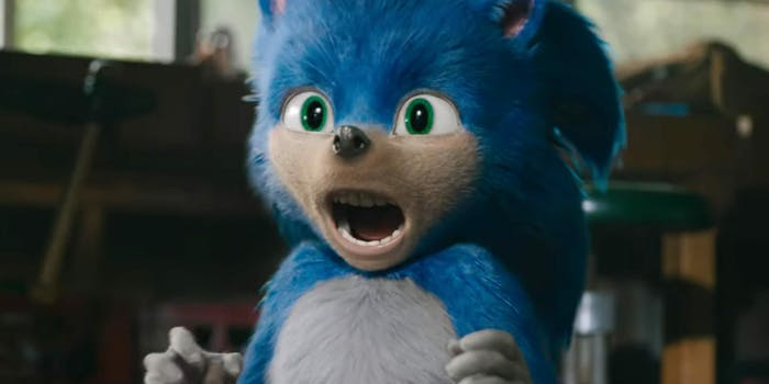 sonic hedgehog movie redesign