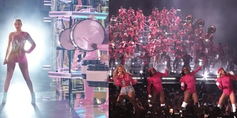 taylor swift beyonce marching bands