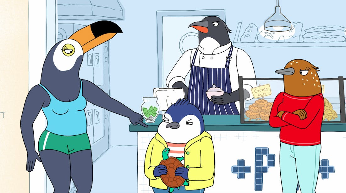 netflix tuca bertie review