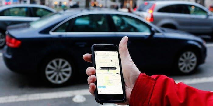 Uber quiet mode