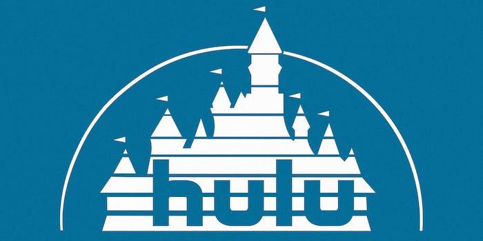 walt disney hulu logo mashup