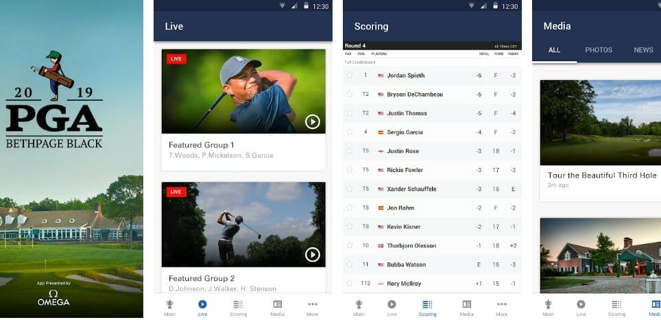 watch 2019 pga championship online for free