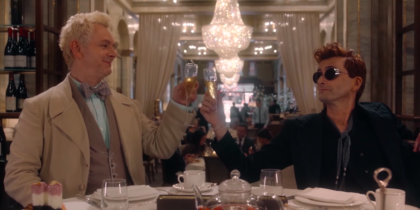 what to stream this weekend on amazon prime - good omens