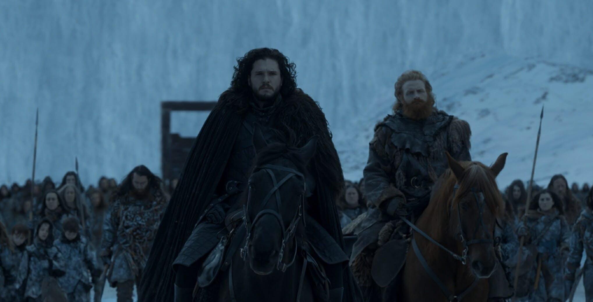 where did jon snow go game of thrones ending explained