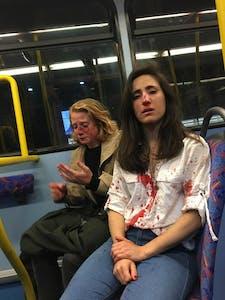 Assault on gay couple - London bus
