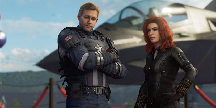 Avengers game memes