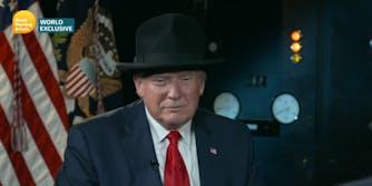 Donald Trump Churchill Hat