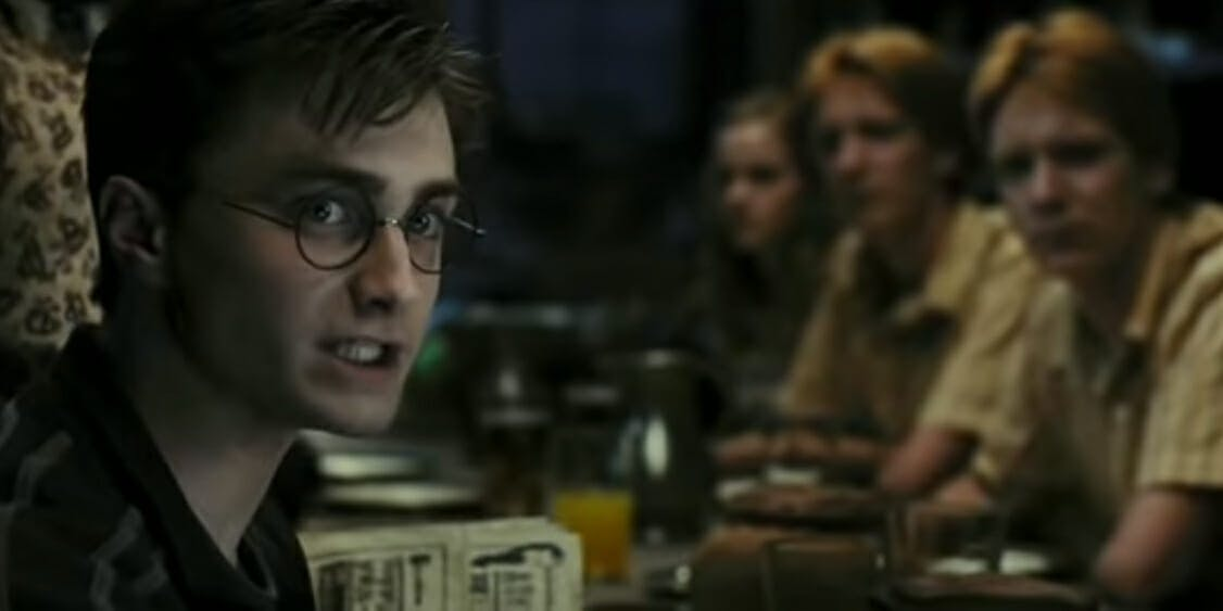 Harry Potter movies - Order of the Phoenix