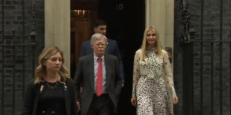 Ivanka Trump John Bolton Booing UK