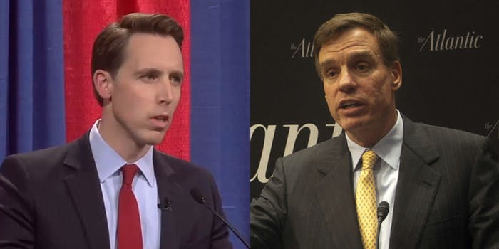Josh Hawley Mark Warner Data Bill