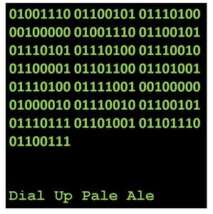 Net Neutrality Brewing Dial Up Pale Ale