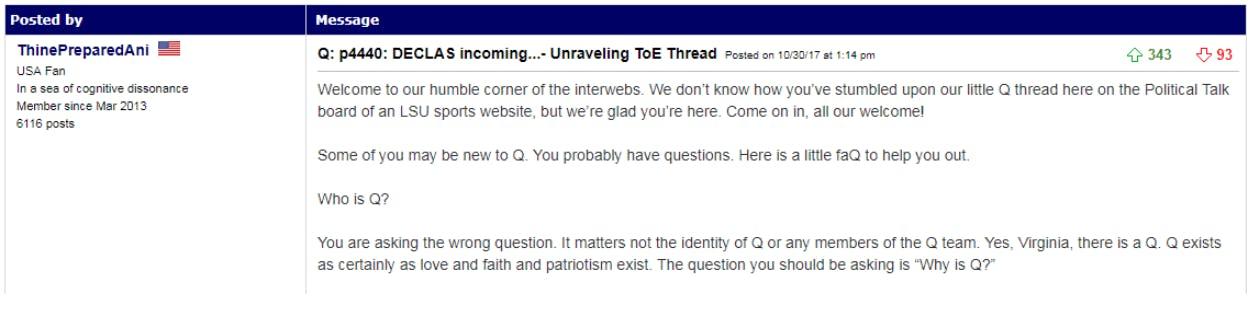 qanon message boards