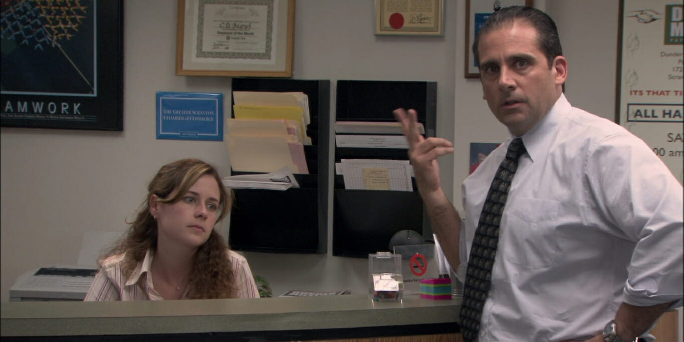 Where to stream The Office - Michael and Pam