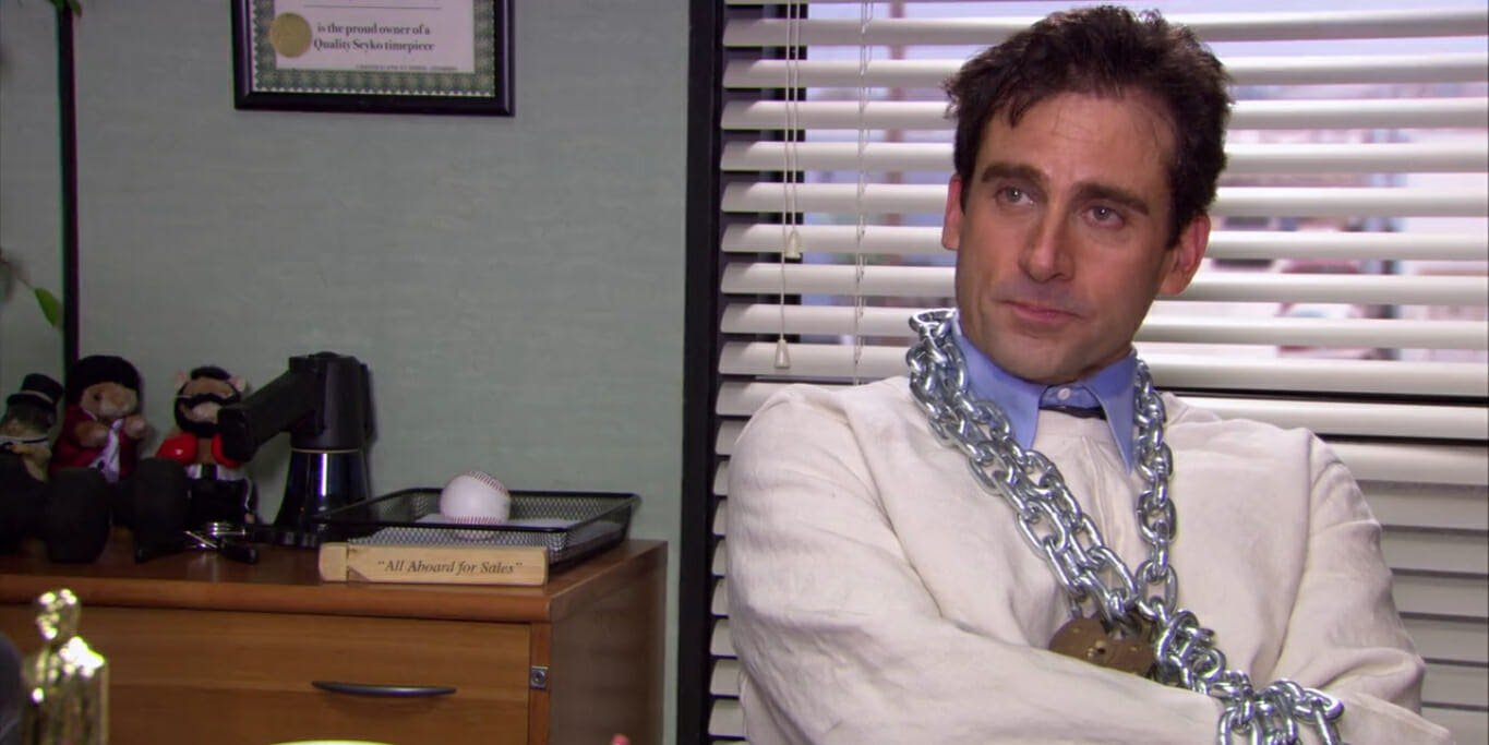 Where to stream The Office - Michael straight jacket