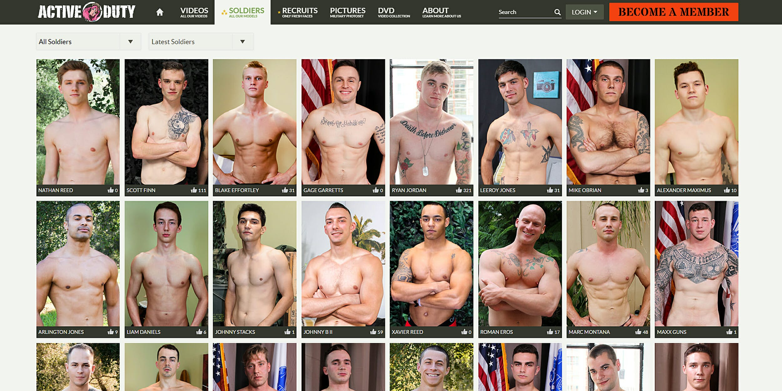 Active Duty military gay porn