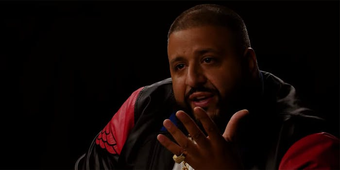 DJ Khaled says he's suing Billboard.