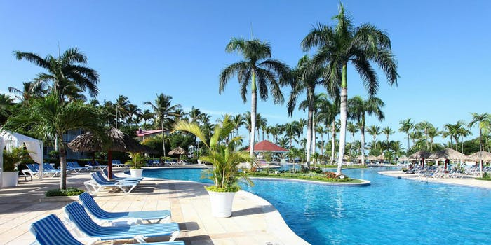 Poolside at the Grand Bahia Principe La Romana