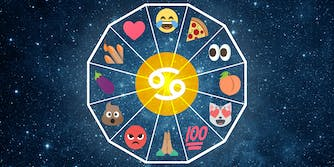 emoji horoscope cancer