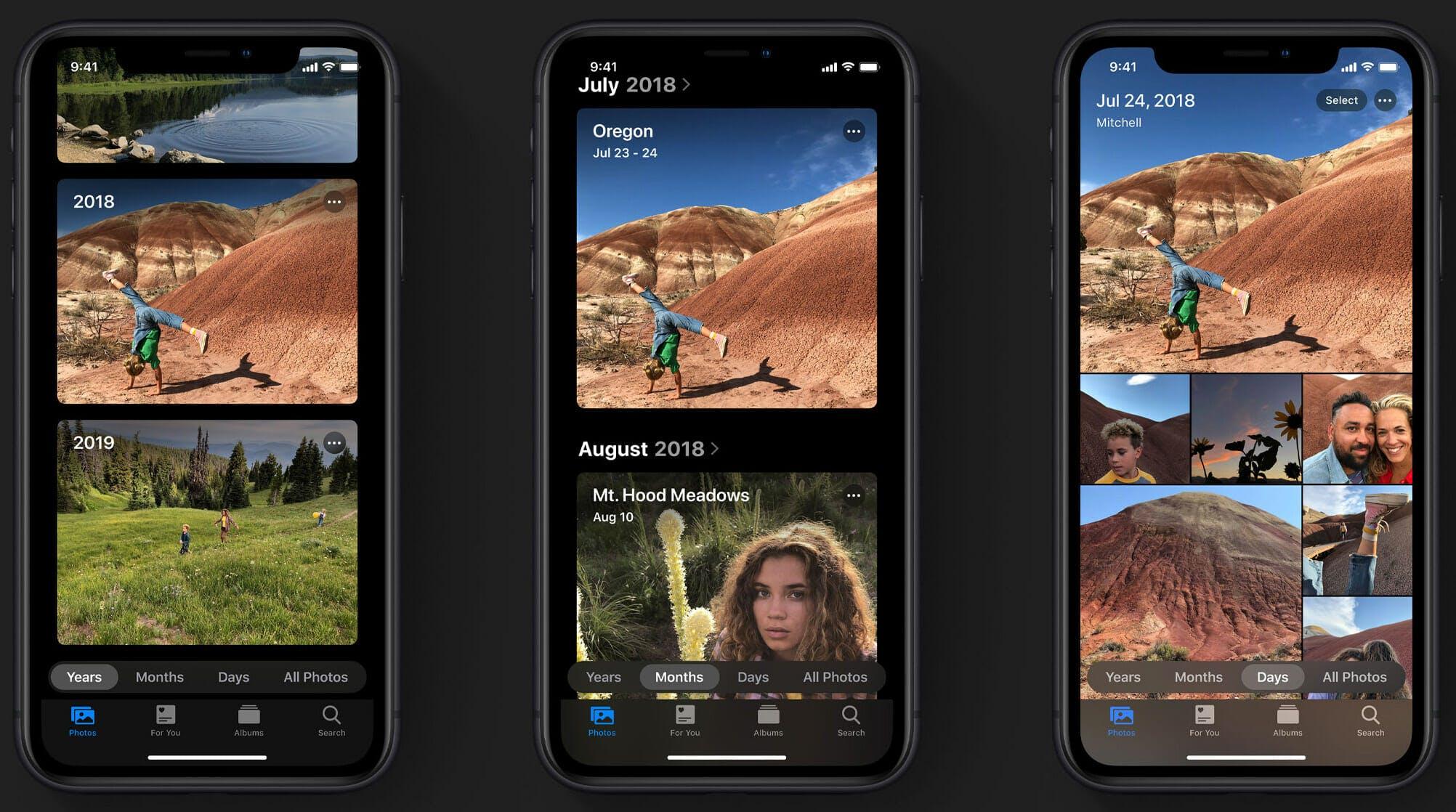 iOS 13 beta photos