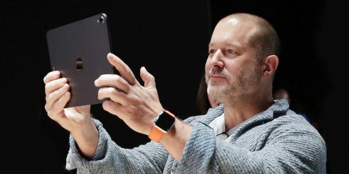 Apple Chief Design Officer Jony Ive
