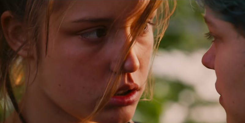 teen movies on netflix - blue is the warmest color