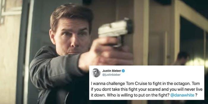 tom cruise bieber