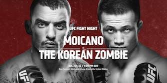 watch ufc fight night 154 moicano sung jung live stream