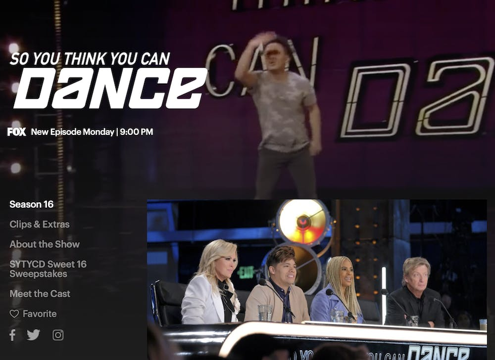 watch so you think you can dance season 16 free on FOX
