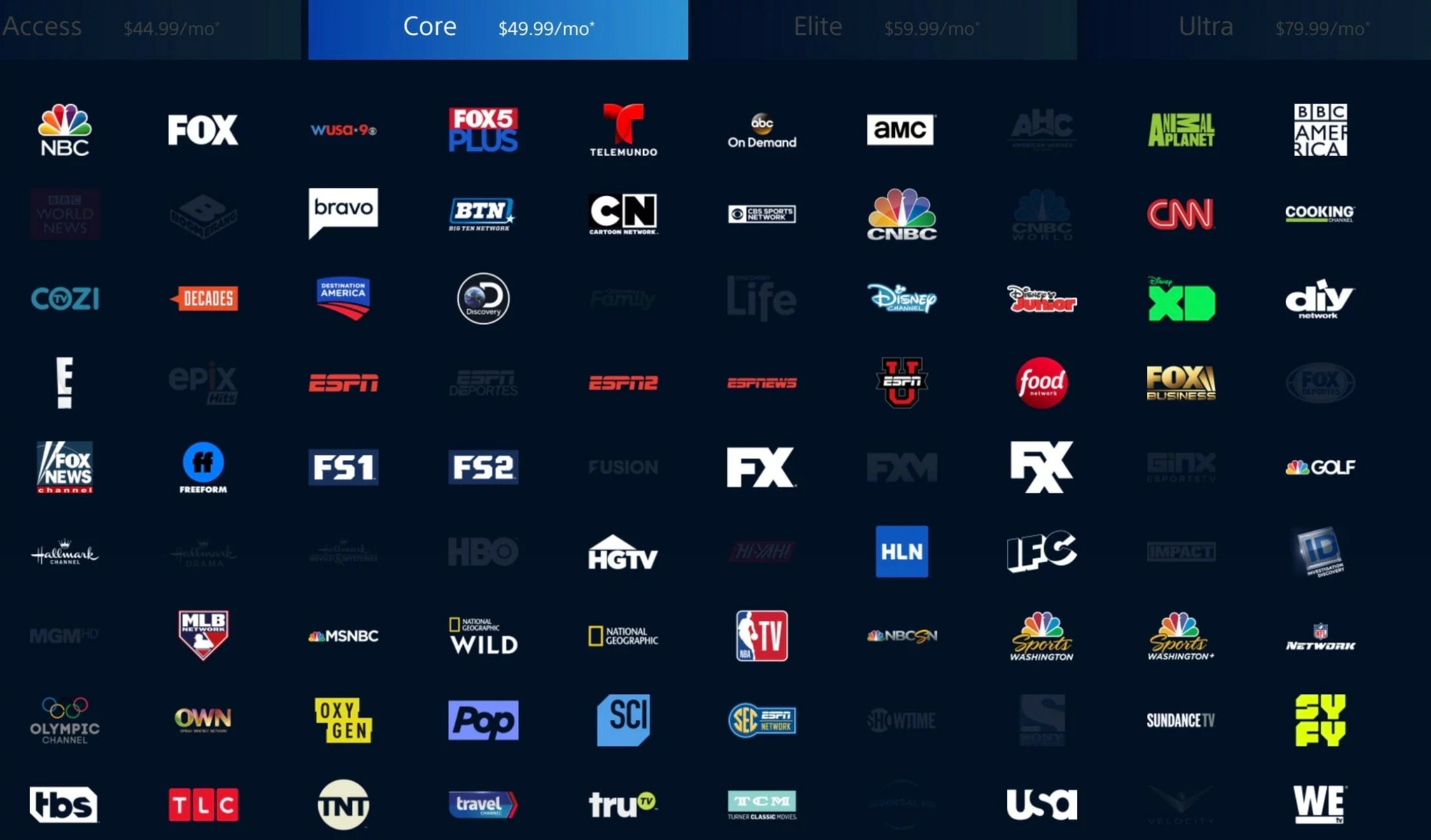 2019 mls live stream free playstation vue core