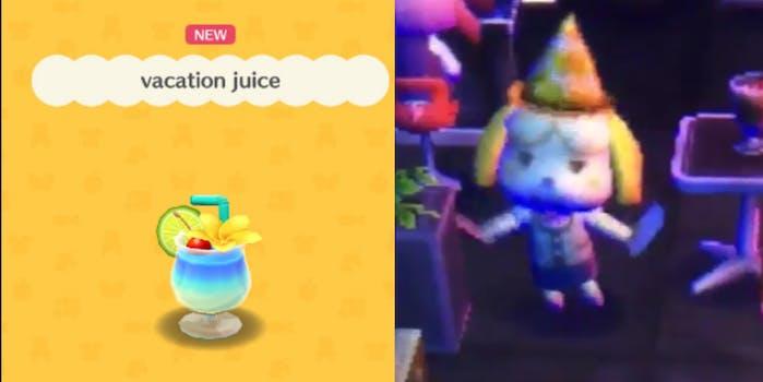 vacation juice