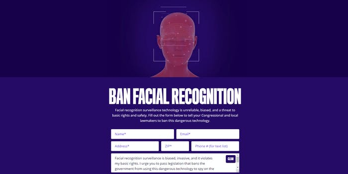 Ban Facial Recognition Fight for the Future