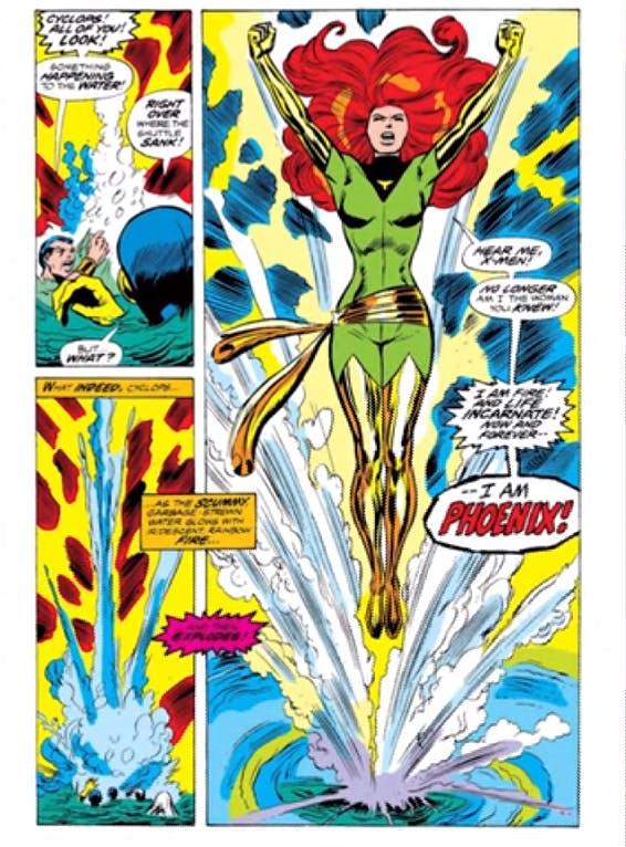 Beset Marvel villains - Dark Phoenix