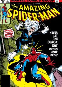 Black Cat comic - Marvel