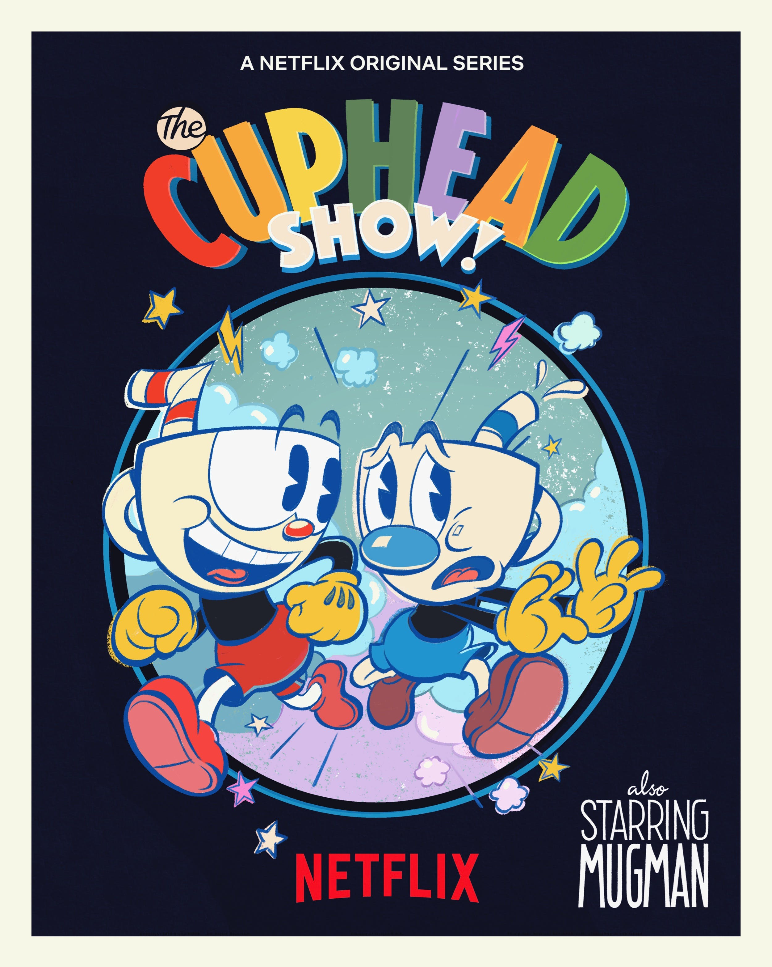 cuphead show poster