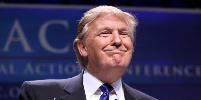 Donald Trump Model Stock footage Ads