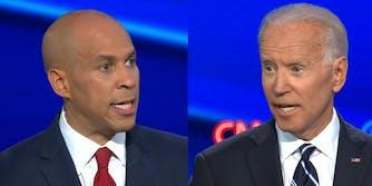 Joe Biden Cory Booker Future President